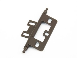 Solid Brass, Hinge, Minaret Tip Non-Mortise, Oil Rubbed Bronze finish Product Image