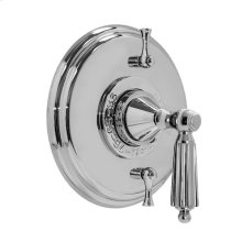 Thermostatic Shower Set with Georgian Handle and Two Volume Controls