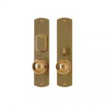 """Curved Entry Set - 2 1/2"""" x 11"""" Silicon Bronze Brushed"""