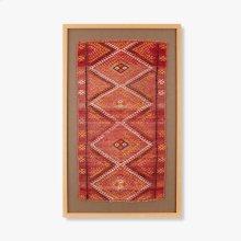 0300980022 Vintage Turkish Rug Wall Art