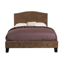 Emerald Home Colton Upholstered Bed Kit King Brown B126-12hbfbr-05