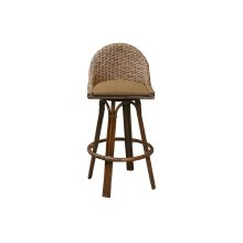 30'' Bar Stool, Available in Carmelo Finish Only.