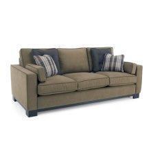 Sofa - with woodbase & leg