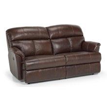 813 Leather Reclining Sofa