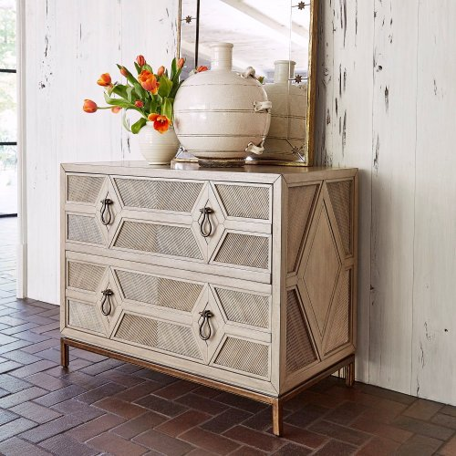Diamond Two Drawer Chest