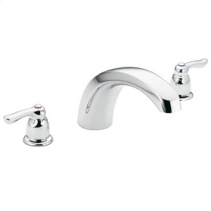 Chateau chrome two-handle roman tub faucet Product Image