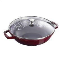 Staub Cast Iron 4.5-qt Perfect Pan, Grenadine
