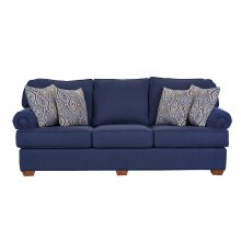 Deep Sofa with loose Pillow Backs