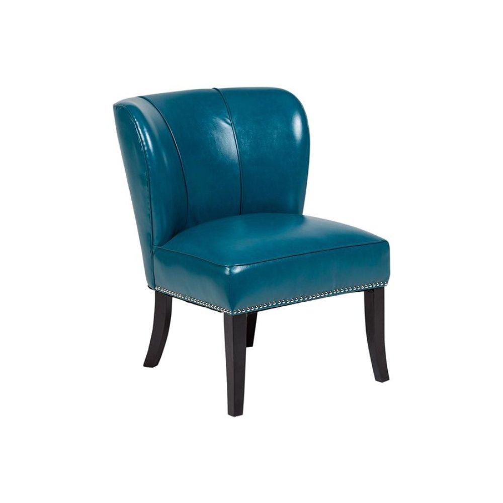 Ipanema AC321 Teal Blue Accent Chair