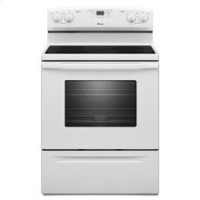 Amana® 30-inch Amana® Electric Range with Versatile Cooktop - White