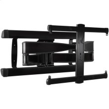 "Black SANUS Advanced Full-Motion Premium TV Mount for 42"" to 90"" TVs"