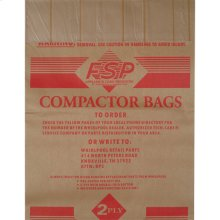 """15"""" Paper Compactor Bags - 12 Count"""