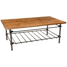 Knot Iron Cocktail Coffee Table