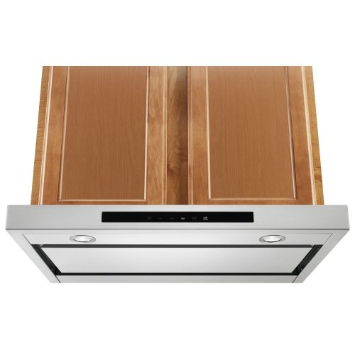 "30"" Low Profile Under-Cabinet Ventilation Hood - Stainless Steel"