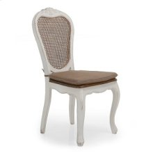 Bella Sandralena Dining Chair Ivory 2-Pack