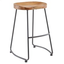 Moka 26'' Counter Stool, set of 2, in Natural