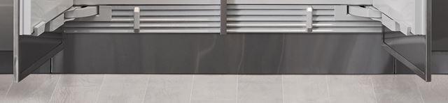 "Integrated 48"" Stainless Steel Kickplate"