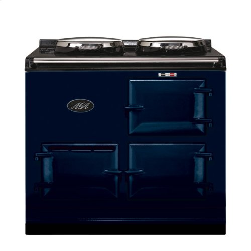 Dark Blue 2-Oven AGA Cooker (gas) Cast-iron range cooker