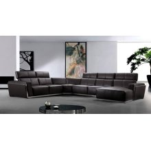 Divani Casa Tempo - Leather Sectional Sofa