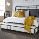 Twin Metal Trundle - Black Product Image