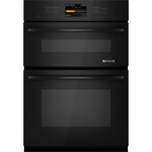 """Combination Oven with V2™ Vertical Dual-Fan Convection System, 30"""", Black Floating Glass w/Handle"""
