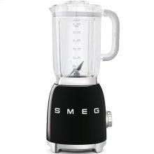 Smeg 50s Retro Style Design Aesthetic Countertop Blender, Black
