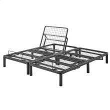 Split California King Adjustable Bed Frames With Wireless Remote Controls (2-Piece)