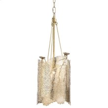 Small Sea Fan Chandelier (brass)