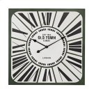 Stylized Roman numeral clock Product Image