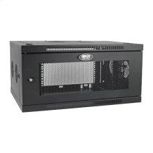 SmartRack 6U Low-Profile Switch-Depth-Plus Wall-Mount Rack Enclosure Cabinet, Wide