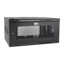 SmartRack 6U Low-Profile Switch-Depth-Plus Wall-Mount Rack Enclosure Cabinet, Wide
