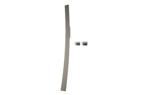 Luna Wall-Mounted Tub Filler w/Wall-Mounted Handles Product Image