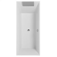 Bathtub Rectangular - white (alpin)