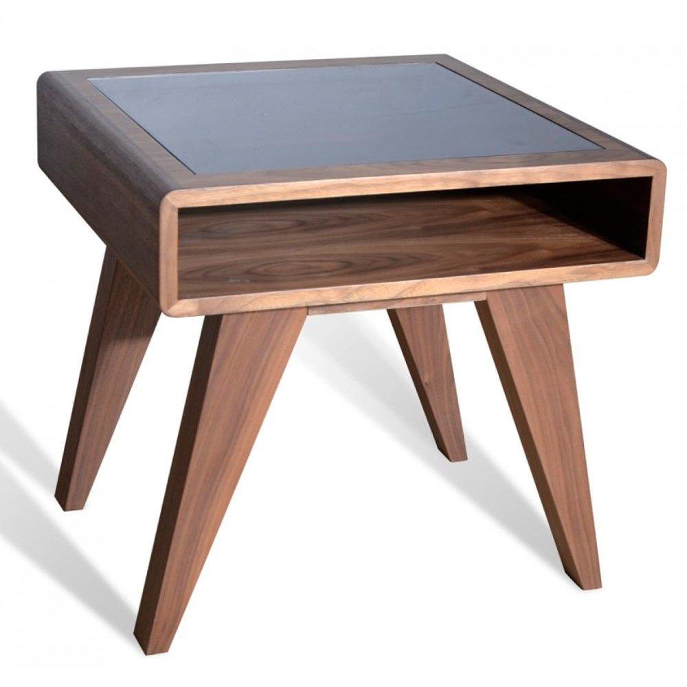 Nova Domus Soria Modern Walnut End Table