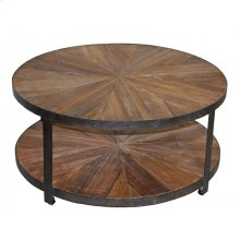 Round 2-Tier Coffee Table