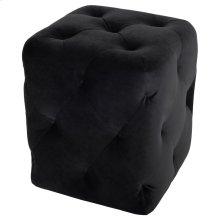 Tufty Ottoman  Black