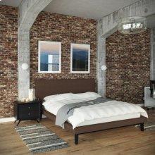 Bethany 2 Piece Queen Bedroom Set in Black Brown