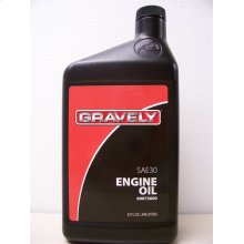 Gravely Sae 30 Engine Oil - 32 Oz.