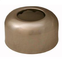 "Brushed Nickel Escutcheon 1-1/2"" Tubular Box Pattern 3"" OD"