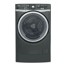 GE® 4.9 DOE cu. ft. Capacity RightHeight™ Front Load ENERGY STAR® Washer with Steam