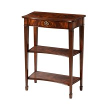 The Small Three Tier Georgian Accent Table