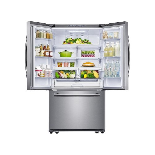 26 cu. ft. French Door Refrigerator with Filtered Ice Maker in Stainless Steel