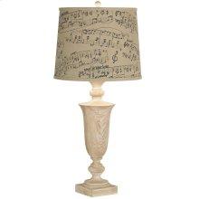 Grand Maison Music Notes Slim Table Lamp