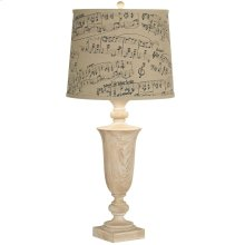 Grand Maison Music Notes Slim Table Lamp