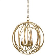 Ofelia Chandelier (gold Leaf) Large