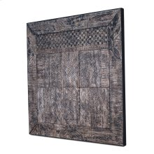 Toraja Tribal Panel, Hand Carved