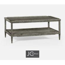 Antique Dark Grey Coffee Table