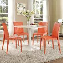 Intrepid Dining Side Chair in Orange