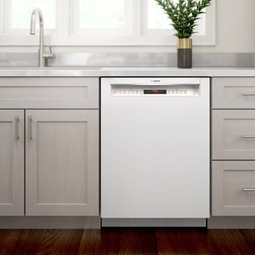 800 Series Dishwasher 24'' White SHEM78Z52N
