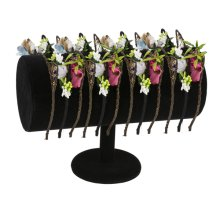 13 pc. assortment. Floral Animal Headband & Countertop Displayer (12 pc. assortment)